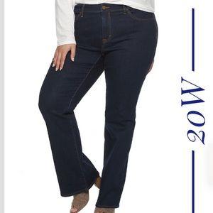 Plus Size EVRI Bootcut Denim Jeans